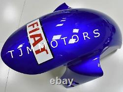 For YZF R1 07-08 ABS Injection Mold Bodywork Fairing Kit Plastic Blue White Fiat