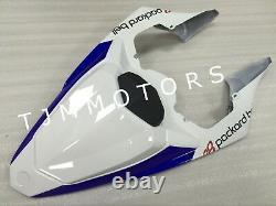 For YZF R1 09-11 ABS Injection Mold Bodywork Fairing Kit Plastic Blue White Fiat