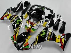 For YZF R1 12-14 ABS Injection Mold Bodywork Fairing Kit Plastic Black Yellow