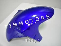 For YZF R1 2000 2001 ABS Injection Mold Bodywork Fairing Kit Plastic Blue White