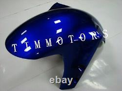 For YZF R1 2000 2001 ABS Injection Mold Bodywork Fairing Kit Plastic White Blue