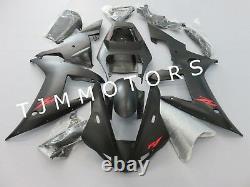 For YZF R1 2002 2003 ABS Injection Mold Bodywork Fairing Kit Plastic Matte Black
