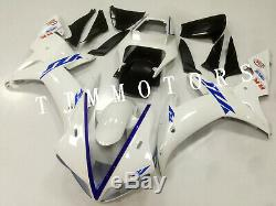 For YZF R1 2002 2003 ABS Injection Mold Bodywork Fairing Kit Plastic Pearl White