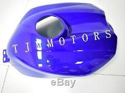 For YZF R1 2004-2006 ABS Injection Mold Bodywork Fairing Kit Plastic Black Blue