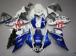 For YZF R1 2004-2006 ABS Injection Mold Bodywork Fairing Kit Plastic Blue Fiat