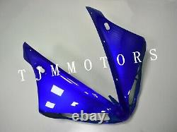 For YZF R1 2004-2006 ABS Injection Mold Bodywork Fairing Kit Plastic Blue White