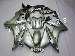 For YZF R1 2004-2006 ABS Injection Mold Bodywork Fairing Kit Plastic Cowl Silver