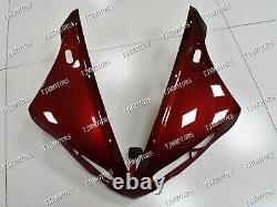 For YZF R1 2004-2006 Red Black ABS Injection Mold Bodywork Fairing Kit Plastic