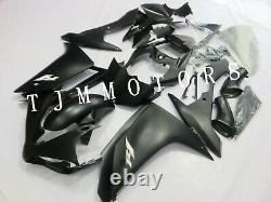For YZF R1 2007 2008 ABS Injection Mold Bodywork Fairing Kit Plastic Matte Black