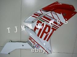 For YZF R1 2007-2008 ABS Injection Mold Bodywork Fairing Kit Plastic Red Fiat