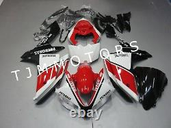 For YZF R1 2007 2008 ABS Injection Mold Bodywork Fairing Kit Plastic Red White