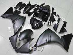 For YZF R1 2009-2011 ABS Injection Mold Bodywork Fairing Kit Plastic Matte Grey