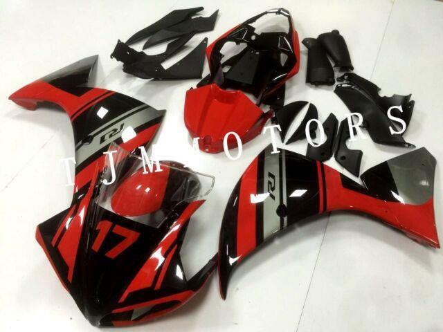 For Yzf R1 2009-2011 Abs Injection Mold Bodywork Fairing Kit Plastic Red Black