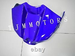 For YZF R1 2009-2011 ABS Injection Mold Bodywork Fairing Kit Plastic Solid Blue