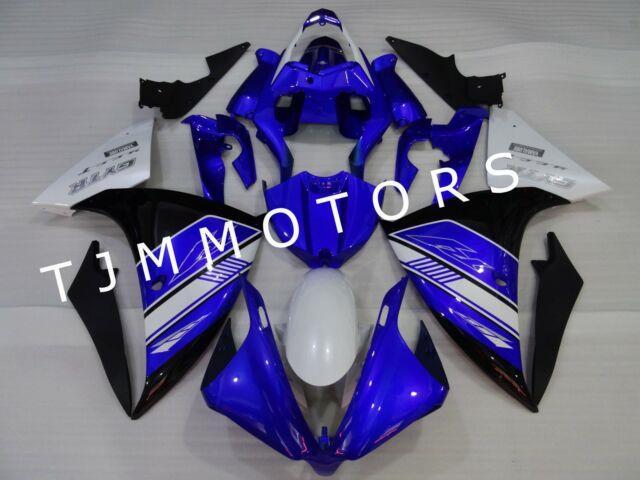 For Yzf R1 2012-2014 Abs Injection Mold Bodywork Fairing Kit Plastic Blue Black