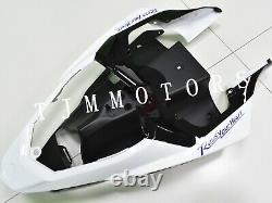 For YZF R1 2012-2014 ABS Injection Mold Bodywork Fairing Kit Plastic White Blue
