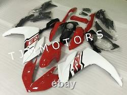 For YZF R3 R25 15-17 ABS Injection Mold Bodywork Fairing Kit Plastic Red White