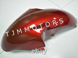 For YZF R6 1998-2002 ABS Injection Mold Bodywork Fairing Kit Plastic Red Black