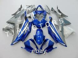 For YZF R6 2006 2007 ABS Injection Mold Bodywork Fairing Kit Plastic Blue Grey