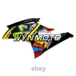 For Yamaha 2008-2016 YZF R6 Injection Mold Fairing Plastic Body Set Black yellow