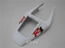 GL Red White Injection Mold Plastic Fairing Fit for Yamaha 1998 1999 YZF R1 u027