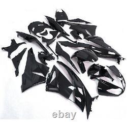 Gloss Black Fairing For KAWASAKI Ninja 2009-2012 ZX6R Injection Mold ABS Plastic