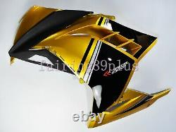Gold Black ABS Plastic Injection Mold Fairing Kit Fit for 2013-2017 Ninja 300
