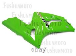 Green ABS Injection Mold Bodywork Fairing Kit Plastic Fit for 03-04 ZX6R 636 a31