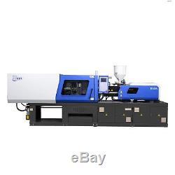Haida HD170L Servo Motor Plastic Injection Molding Machine with Dryer Hopper and