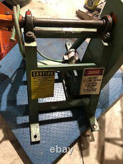 IMS T0-0130 dual drum tumbler Plastic Injection Molding pellets/hopper 1HP