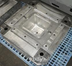Ice Chest Molds Plastic Blow Molds and Injection Molds, Complete Set, 4 Molds