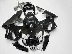 Injection Mold ABS Plastic Fairing Kit Fit for Honda 2003 2004 CBR600RR Black