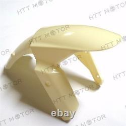 Injection Mold ABS Plastic Fairing Kit For KAWASAKI Ninja 2009-2012 ZX6R Unpaint