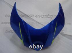 Injection Mold Blue Bodywork Fairing Kit Plastic Fit for GSX-R 1000 K7 07-08 aAG