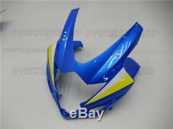 Injection Mold Blue Fairing Fit for GSX-R 1000 2005 2006 K5 Plastics Set