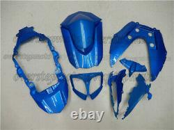 Injection Mold Bodywork Fairing Kit Fit for GSXR 1000 09-16 ABS Plastic Blue aAU
