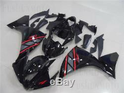 Injection Mold Fairing Fit for 2012-2014 Yamaha YZF R1 New Black ABS Plastics 09