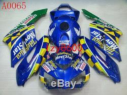 Injection Mold Fairing For Honda 2004 2005 CBR 1000 RR Plastics Set Body Work
