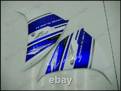 Injection Mold Fairings Fit for Yamaha 2012-2014 YZF1000 R1 Plastics Blue White