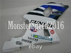 Injection Mold Fit for SUZUKI GSXR 1000 K1 K2 2000-2002 Fairing Plastics Set qAH