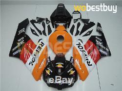 Injection Mold Orange Fairing Fit for Honda 2004 2005 CBR1000RR Plastic ABS uE4