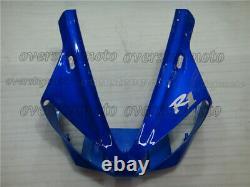 Injection Mold Plastic Blue Fairing Bodywork Kit Fit for Yamaha YZF R1 1998-1999