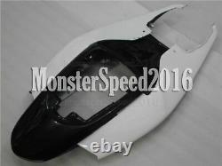 Injection Mold Plastic Fairing Fit for Suzuki GSXR 600 750 06-07 White Black qAH