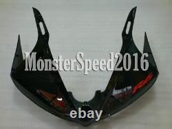 Injection Mold Plastic Fairing Fit for Yamaha 2003 2004 2005 YZF R6 ABS Black AE