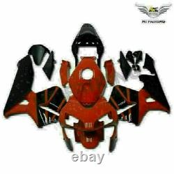 Injection Mold Plastic Red Black Fairing Fit for Honda 2003-2004 CBR600RR f038