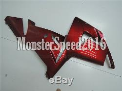 Injection Red Fairing Plastic ABS mold Fit for 2004 2005 ZX-10R zAT