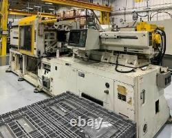 Kawaguchi KM280B Plastic Injection Molding Machine- 280 Ton, 24 oz Shot