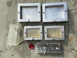 LNS Benchtop PLASTIC Injection Molding 150A Machine with3D formlabs Mold +PELLETS
