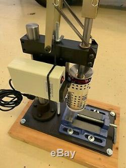 LNS Technologies Benchtop Plastic Injection Molding Machine. Model 150A
