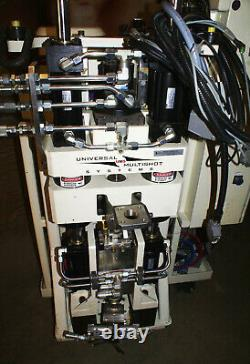 MGS Universal Multishot System 18mm Plastic Injection Molding Hydraulic $175k